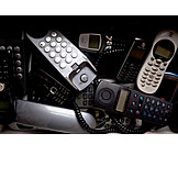 Telephone, Recycling, Electronic Scrap