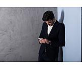 Businessman, Mobile Communication, Smart Phone