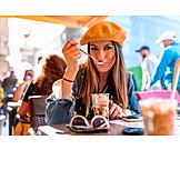 Gastronomy, City Trip, Iced Coffee, Tourist