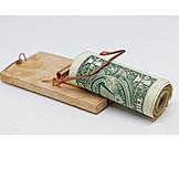 Money, Debt Trap, Bait
