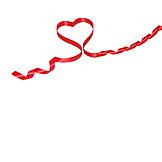 Love, Heart, Ribbon