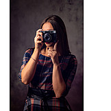 Photograph, Analog, Photo camera
