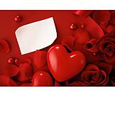 Copy Space, Heart, Valentine, Message