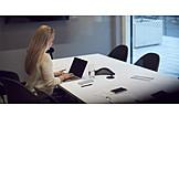 Business Woman, Preparation, Workplace, Presentation