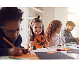 Zuhause, Basteln, Kinder, Halloween