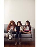 Freizeit, Zuhause, Internet, Online, Kinderschutz