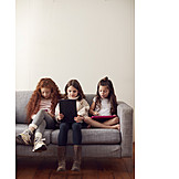 Leisure, Home, Internet, Online, Child Protection