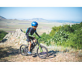 Mountain Range, Extreme Sports, Mountain Bike