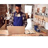 Laptop, Online, Workshop, Cad
