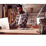 Laptop, Workshop, Draft, Cad, Designer