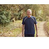 Active Seniors, Path, Portrait