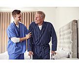 Senior, Support, Geriatric Nurse