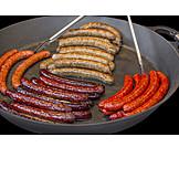 Sausages, Searing
