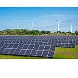 Wind Power, Renewable Energy, Solar Energy