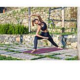 Fitness, Yoga, Stretching, Exercise