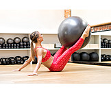 Fitness, Weightlifting, Fitness Ball