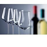 Weinglas, Rotwein, Weißwein, Glasformen
