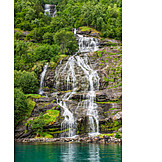 Waterfall, Geirangerfjord