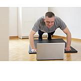 Sports Training, Online, Gymnastics, Push Ups