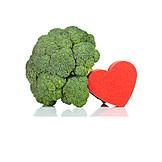 Heart, Vitamins, Broccoli