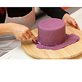 Fondant, Cake, Manufacturing, Baker