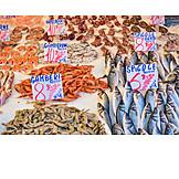 Fish, Seafood, Fish Market