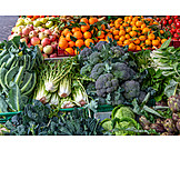 Fruit, Vegetable, Market Stall