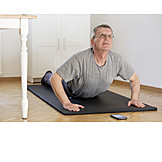 Zuhause, Yoga, Online, Smartphone