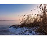 Coast, Winter, Baltic Sea
