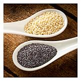 Poppy, Sesame, Sesame seeds