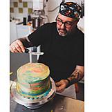 Cake, Confectioner, Spread