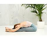 Yoga, Paschimottanasana, Lean Forward
