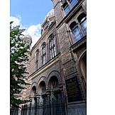 Berlin, New synagogue, Oranienburger straße