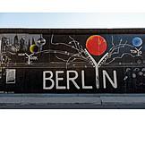 Berlin, Graffiti, East side gallery