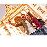 Couple, Happy, Love, City Trip