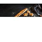Baguette, Crust