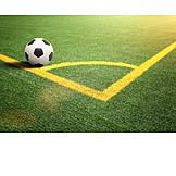 Soccer, Soccer Field, Marker
