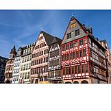Frankfurt, Timbered, Römerberg