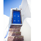 House, Santorini, Typical Feature