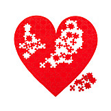 Love, Heart, Jigsaw Puzzle