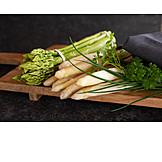 Asparagus, Culinary Herbs