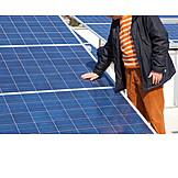 Solar Cells, Solar Plant, Inspection, Solar
