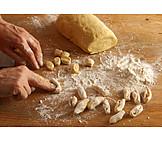 Preparation, Homemade, Gnocchi