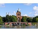 Berlin, Engelbecken, St. michael church