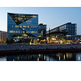 Spree river, Main station, Cube berlin