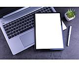 Laptop, Desk, Tablet-pc