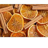 Orange, Cinnamon, Dried Food
