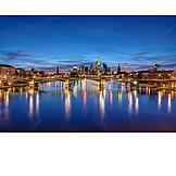 Bridge, Main River, Frankfurt