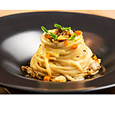 Seafood, Pasta, Truffle Mushroom