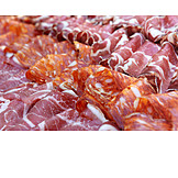Cold Plate, Ham, Sausages, Salami